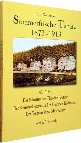 9783938997925: Sommerfrische Tabarz 1873-1913