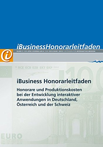 9783939004141: iBusiness 'Honorarleitfaden 2010'