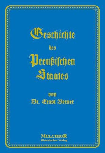 9783939102182: Geschichte des Preußischen Staates
