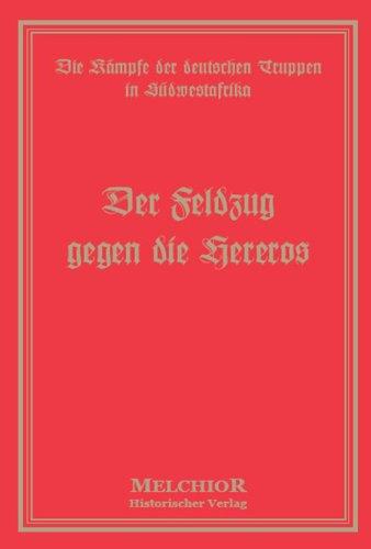 9783939102366: Der Feldzug gegen die Hereros