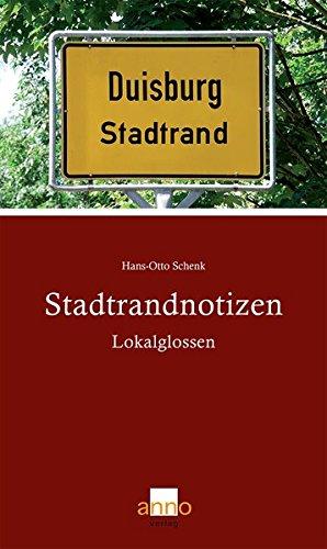 9783939256137: Stadtrandnotizen: Lokalglossen