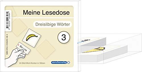 9783939293484: Meine Lesedose 3 - Dreisilbige Wörter