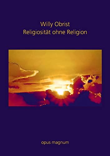 9783939322184: Religiosit�t ohne Religion