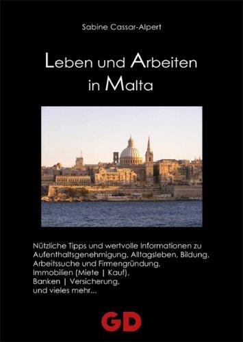 9783939338345: Leben und Arbeiten in Malta