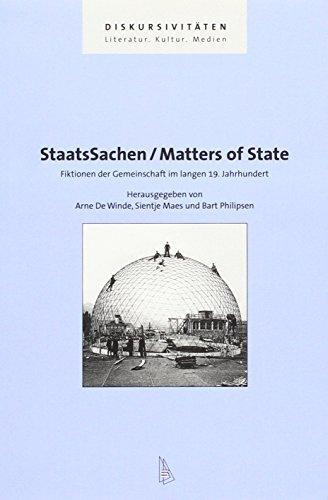 StaatsSachen / Matters of State: Arne DeWinde