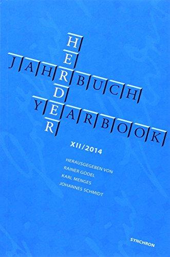 9783939381792: Herder Jahrbuch. Herder Yearbook. Bd.12/2014