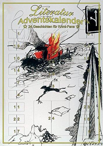 9783939385028: Literatur-Adventskalender. 24 Geschichten für Krimi-Fans