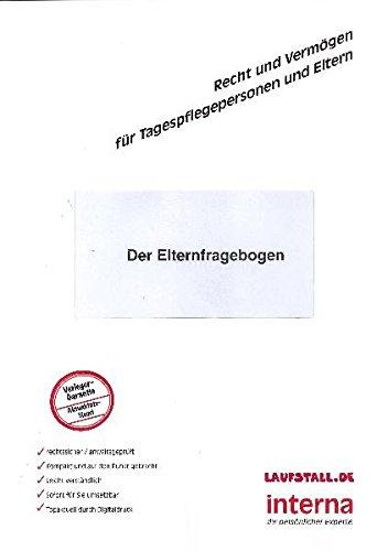 9783939397809: Der Elternfragebogen