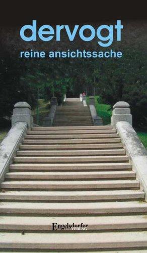 9783939404989: Reine Ansichtssache (Livre en allemand)