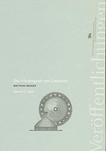 9783939414360: Das Fürstengrab von Gommern.