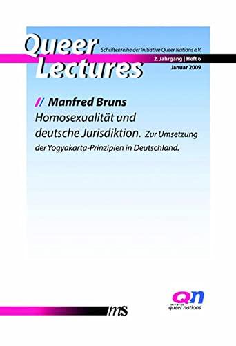 9783939542674: Homosexualität und deutsche Jurisdiktion