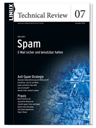 9783939551096: Linux Technical Review 07 Spam