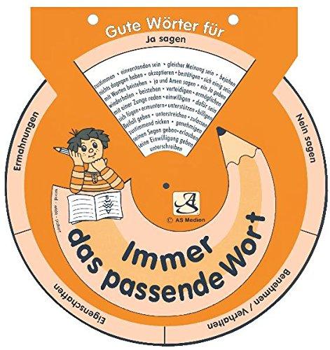 9783939677109: Mein Aufsatzhelfer (orange) - Drehscheibe: Immer das passende Wort
