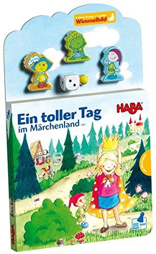 9783939709718: Ein toller Tag im Märchenland: Wimmelpuzzlebuch