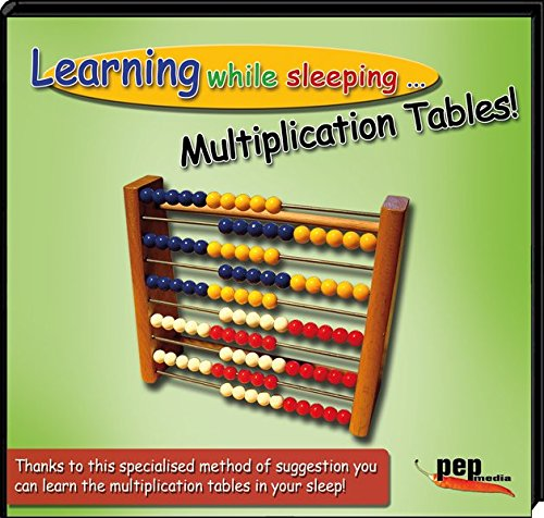 9783939748182: Learning while sleeping... Multiplication Tables!
