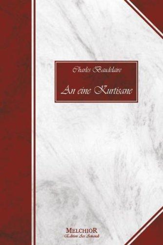 9783939791928: An eine Kurtisane: Charles Baudelaire