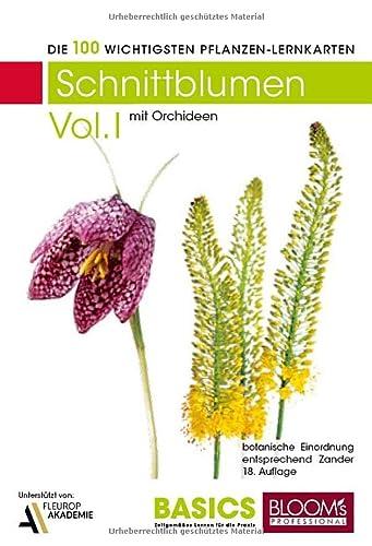 9783939868330: Pflanzen Lernkarten, Die 100 wichtigsten Schnittblumen. Tl.1
