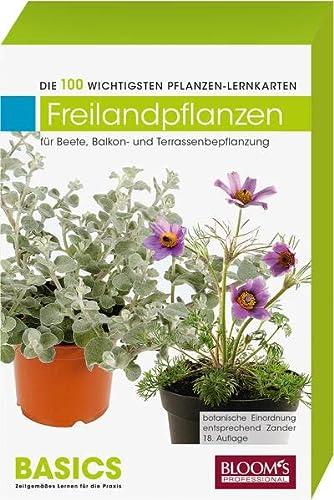 9783939868392: Pflanzen-Lernkarten, Die 100 wichtigsten Freilandpflanzen