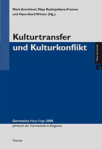 Kulturtransfer und Kulturkonflikt: Mark Arenhövel