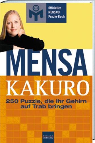 9783939908548: Mensa: Gehin-Jogging: 250 Puzzle, die Ihr Gehirn auf Trab bringen