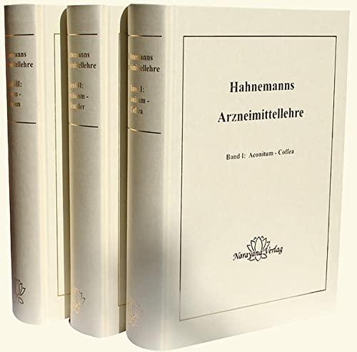 Hahnemanns Arzneimittellehre, 3 Bde.: Samuel Hahnemann