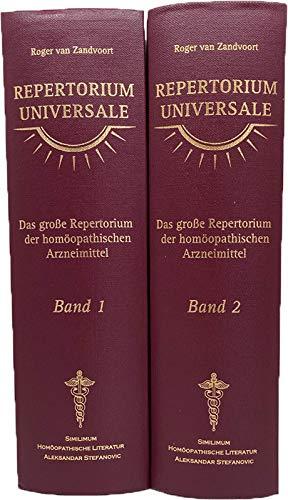 9783939931300: Repertorium Universale /Complete Repertory - Neue Deutsche Ausgabe: Das grosse Repertorium der homöopathischen Arzneimittel. Studienausgabe im Taschenformat