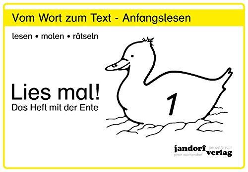 9783939965008: Lies mal! Heft 1: Vom Wort zum Text - Anfangslesen