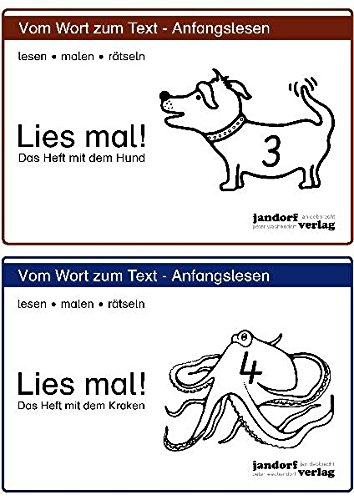 9783939965084: Lies mal! Hefte 3 und 4: Vom Wort zum Text - Anfangslesen