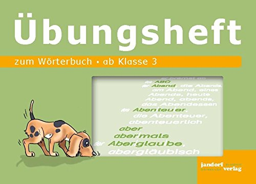 Wörterbuch Übungsheft: ab Klasse 3 (Hardback): Jan Debbrecht, Peter