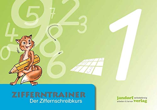 Zifferntrainer: Der Ziffernschreibkurs (Hardback): Thomas Auras, Jan