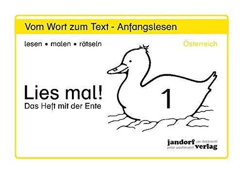 Lies mal! Heft 1 (Österreich): Vom Wort: Peter Wachendorf, Jan