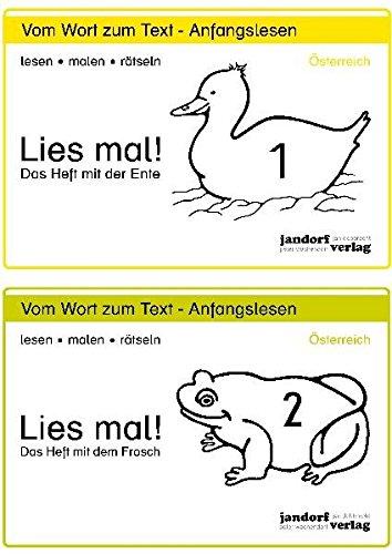9783939965510: Lies mal! Hefte 1 und 2 (Österreich): Vom Wort zum Text - Anfangslesen (Ausgabe für Österreich)