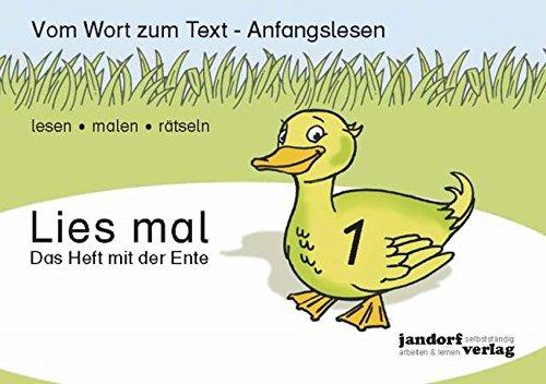 Lies mal 1 - Das Heft mit: Peter Wachendorf, Jan