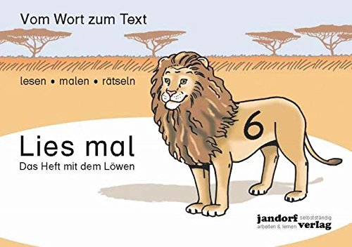 9783939965794: Lies mal 6 - Das Heft mit dem Löwen