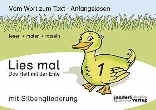 Lies mal 1 (mit Silbengliederung) - Das: Peter Wachendorf, Jan