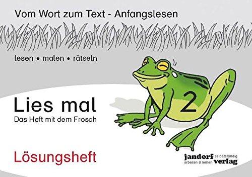 Lies mal 2 - Das Heft mit: Peter Wachendorf, Jan