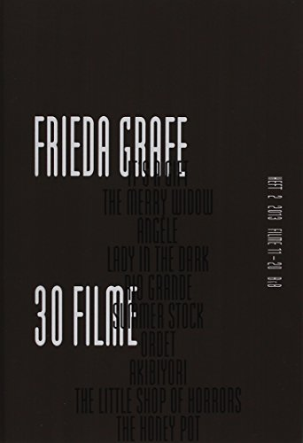 Frieda Grafe, 30 Filme Heft 2: Frieda Grafe