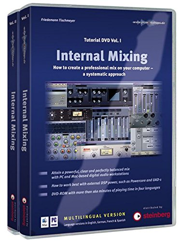 9783940058041: Internal Mixing Tutorial-DVD-ROM 1 & 2 für Windows ab XP und Mac OS X: How to Create a Professional Mix on Your Computer - A Systematic Approach [Alemania]
