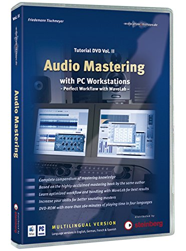 9783940058065: Friedemann Tischmeyer: Audio Mastering - Tutorial Dvd Volume 2 (Mac/Pc) [Reino Unido]