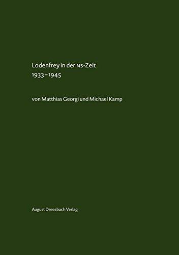 9783940061751: Lodenfrey in der NS-Zeit 1933-1945