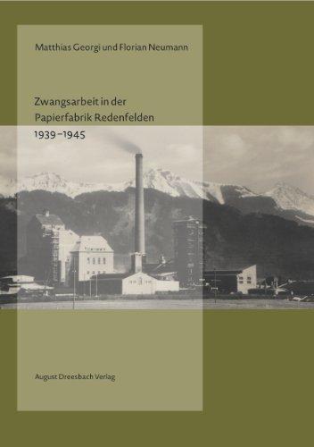 9783940061973: Zwangsarbeit in der Papierfabrik Redenfelden 1939-1945