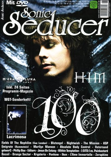 9783940065117: 100. Sonic Seducer-Ausgabe 07-08/07 mit Best Of M'Era Luna 2000-2006 DVD; Bands u.a. HIM, The Birthday Massacre, VNV Nation, Nightwish, Subway To ... Wolfsheim, The Sisters Of Mercy u.v.m.