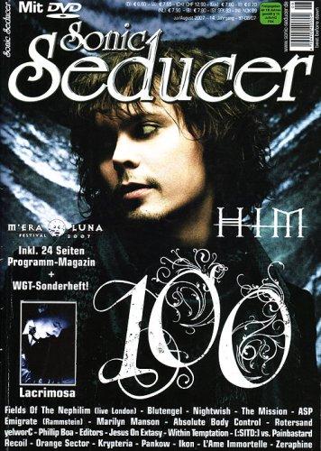 9783940065117: 100. Sonic Seducer-Ausgabe 07-08/07 mit Best Of M Era Luna 2000-2006 DVD; Bands u.a. HIM, The Birthday Massacre, VNV Nation, Nightwish, Subway To ... Wolfsheim, The Sisters Of Mercy u.v.m.