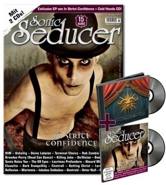"9783940065711: Sonic Seducer 03/2010: Mit exkl. 8-Track-EP ""Silver Bullets"" im Jewelcase von In Strict Confidence & CD Beilage ""Cold Hands Vol. 104"" im Digisleeve"