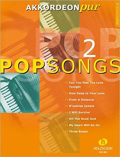 9783940069054: PopSongs, für Akkordeon. Bd.2