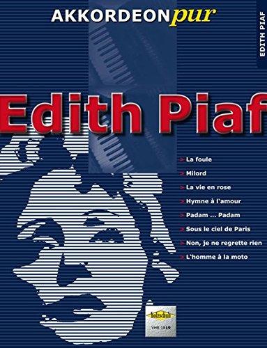 9783940069924: Akkordeon pur: Edith Piaf