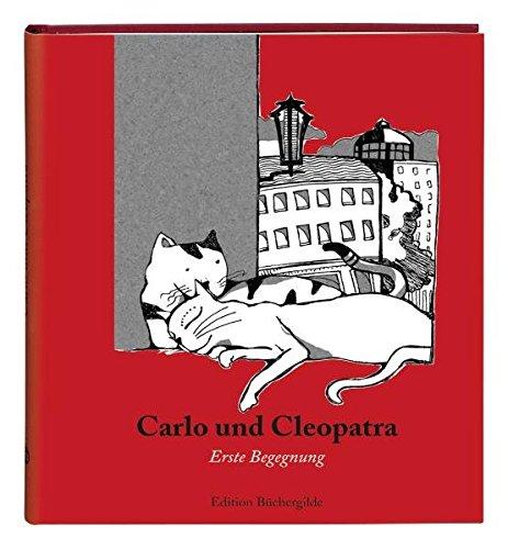 9783940111654: Carlo und Cleopatra. Erste Begegnung ; Ill. v. Zaeri, Mehrdad; Deutsch; , Mit 50 zweifarbigen Tuschezeichnungen