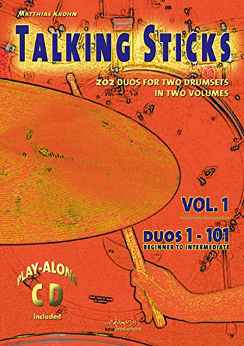 9783940161055: Talking Sticks Vol 1 Krohn Drum Duets En