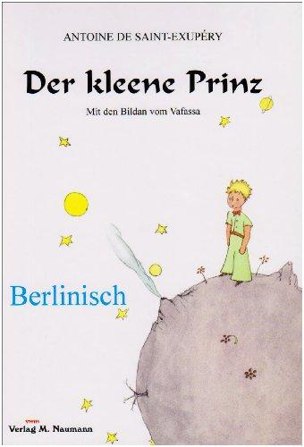 9783940168641: Der Kleene Prinzberlinisch