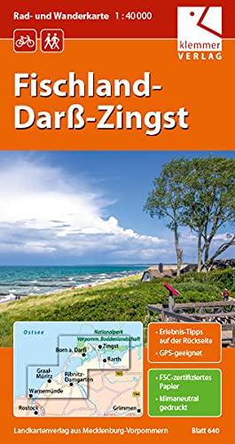 9783940175083 Rad Und Wanderkarte Fischland Darss Zingst 1 40